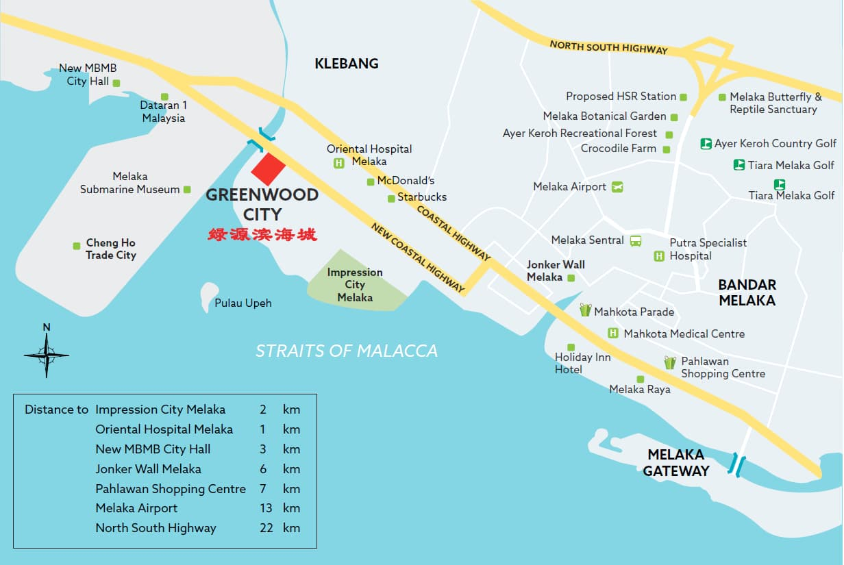 Greenwood map