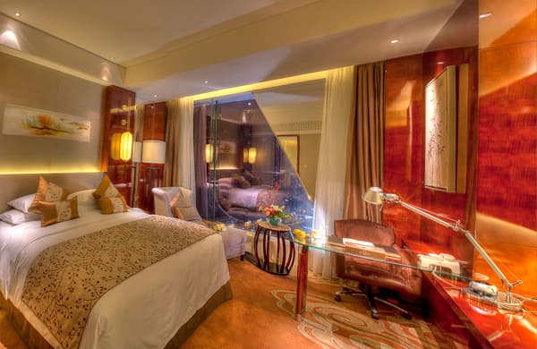 G-Luxe hotelroom